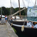 Wind aft on Brittany-Cornwall trade under sail