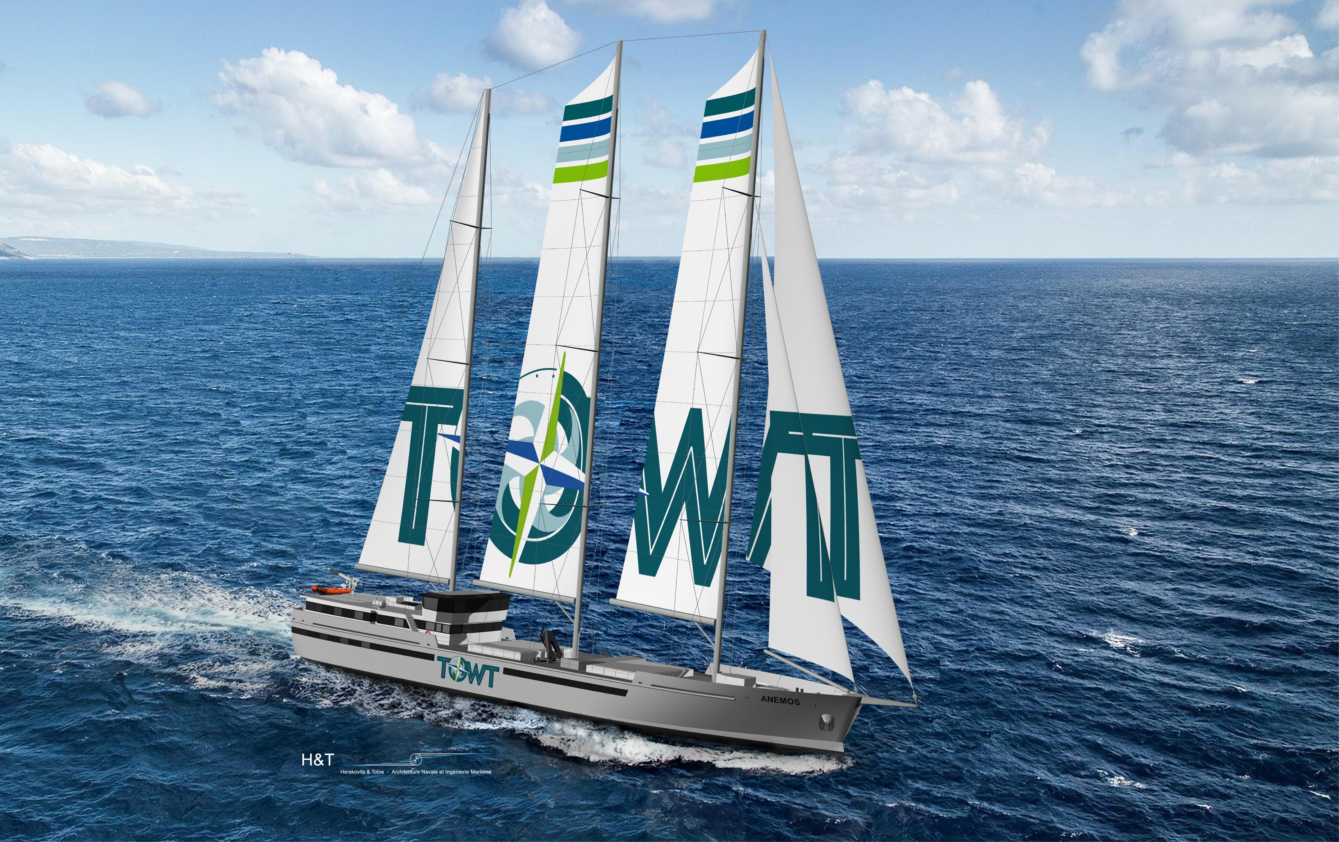 TOWT Voilier cargo - Incrustation mer